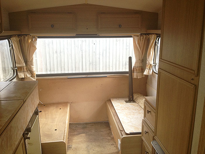 Vintage caravan renovation project part one Diy caravan interior design ideas