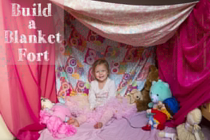 build a blanket fort