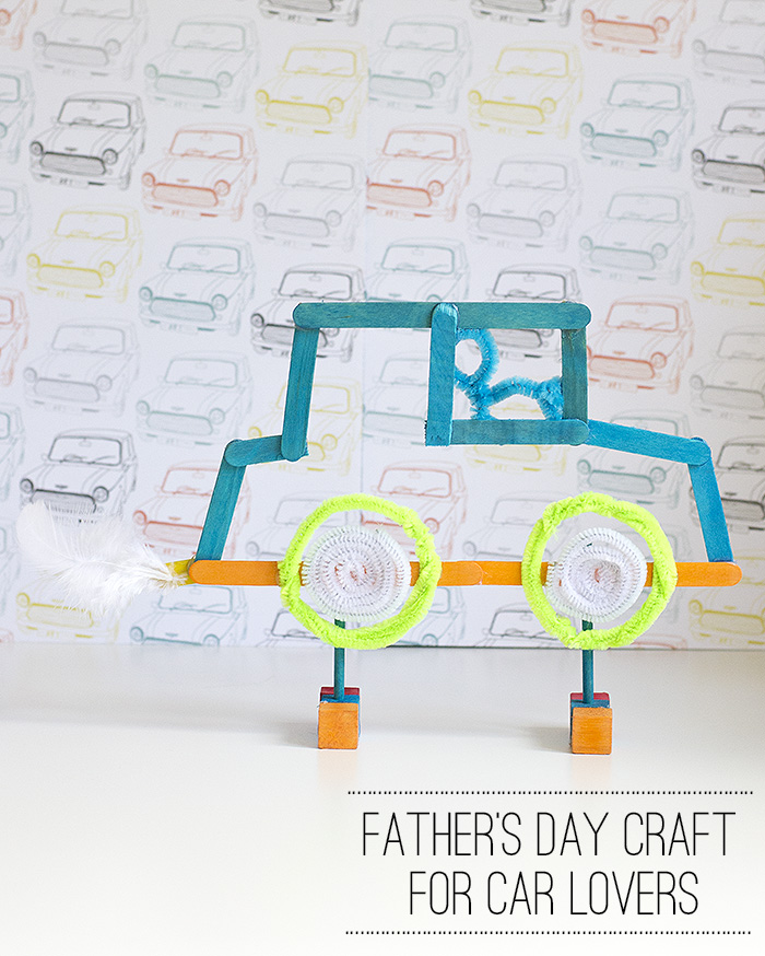 fathers day craft for car lovers pinterest