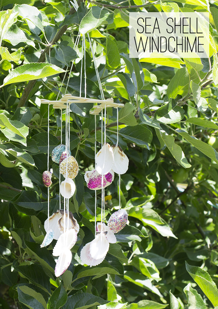 sea shell windchime