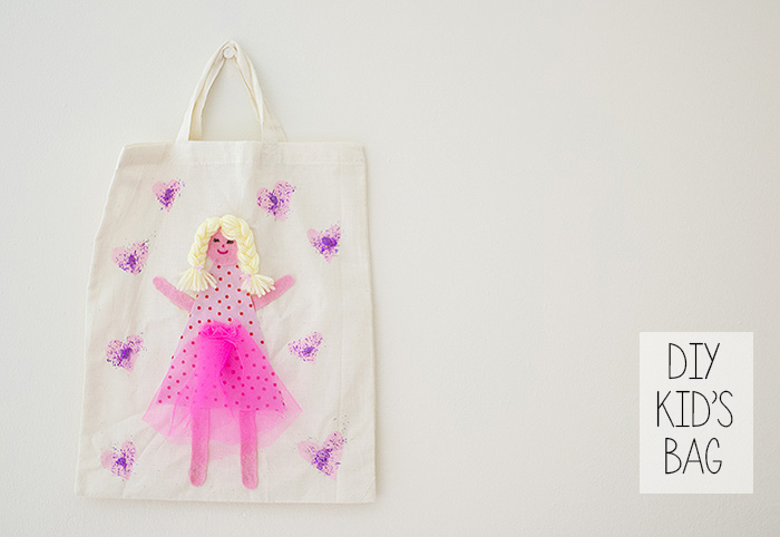 DIY PRINCESS KIDS BAG