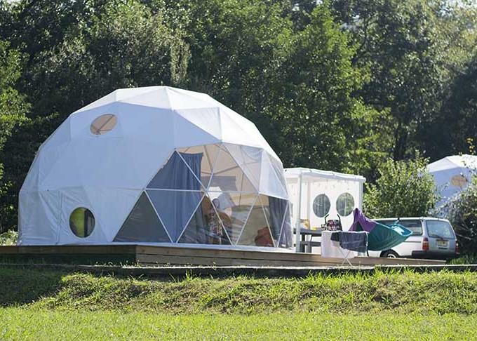 Glisten Camping Geodome 1