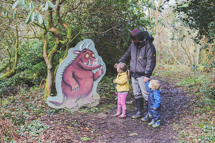 cottages in cornwall Bosinver Gruffalo Trail