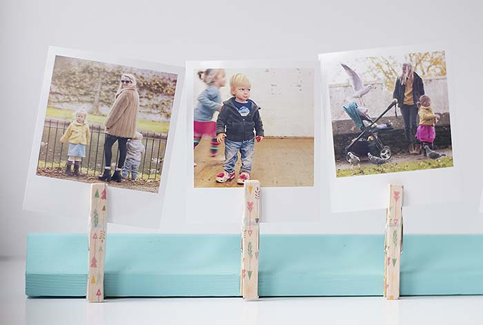 DIY-polaroid-photo-frame diy projects