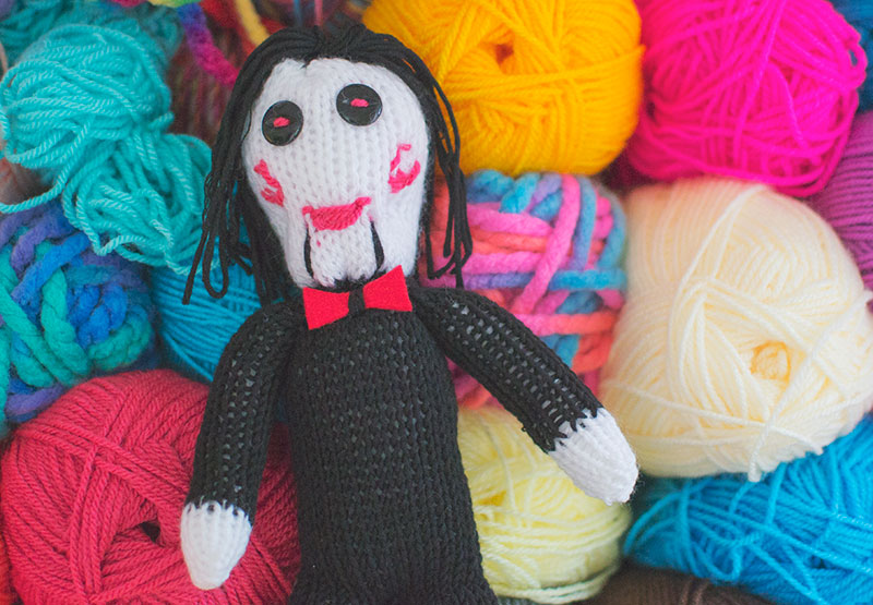 creepy-knitted-saw-doll