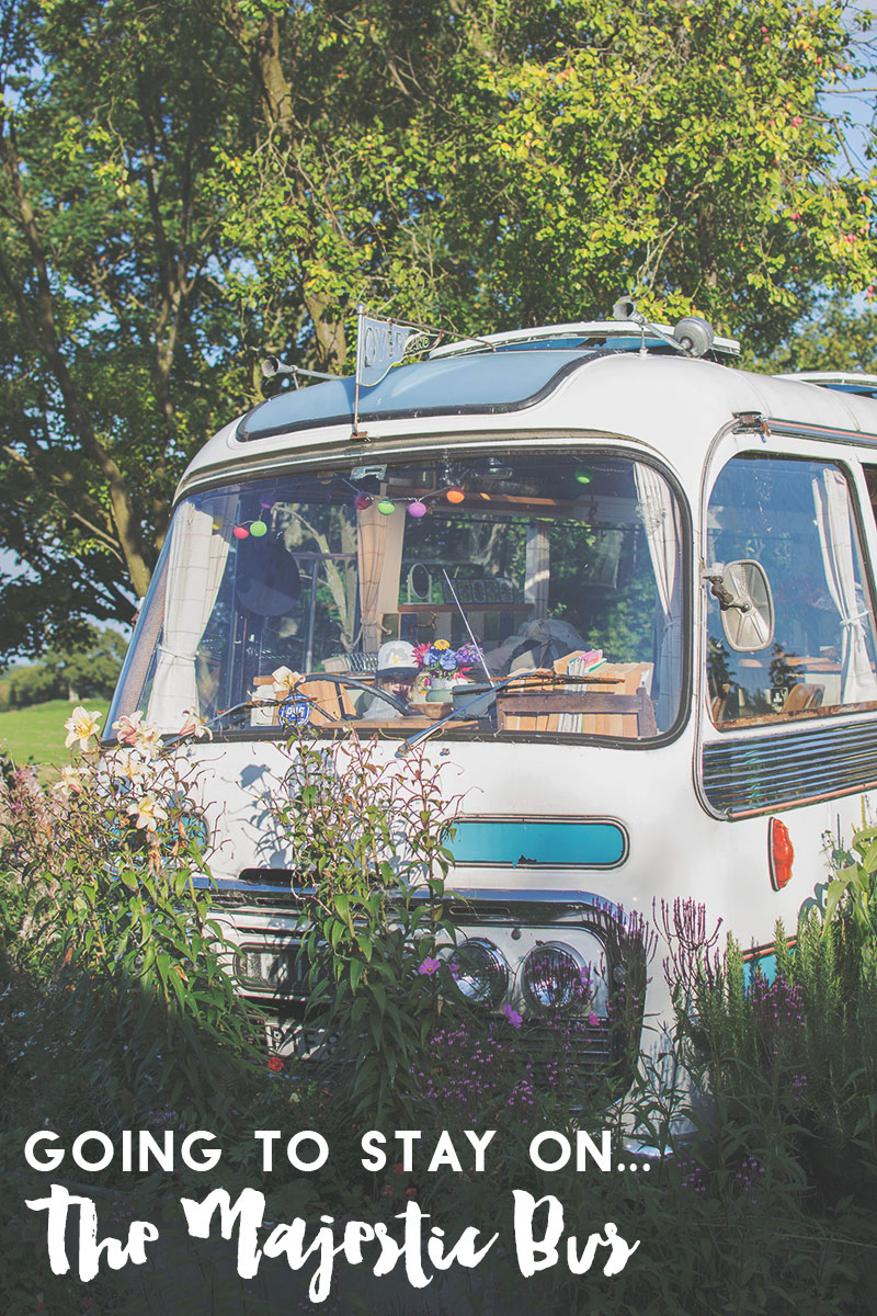 canopy and stars majestic bus glamping
